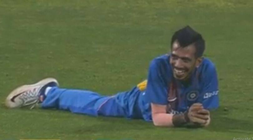 WATCH: Yuzvendra Chahal can't control laughter after running out Wanidu Hasaranga in Pune T20I