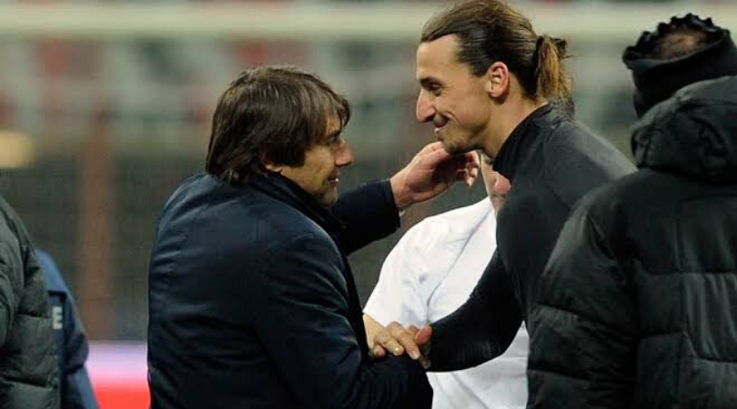 Antonio Conte reveals he tried signing Zlatan Ibrahimovic when he was Chelsea manager