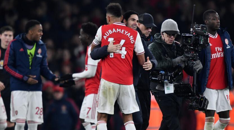 Arsenal Transfer News Mikel Arteta opens up on rumors of Aubaemyang leaving the club
