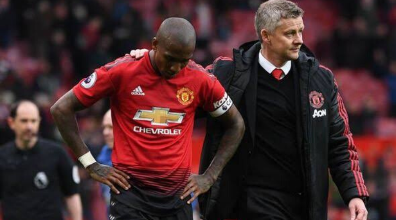 Ashley Young has told Ole Gunnar Solskjaer that he never wants to play for Manchester United again