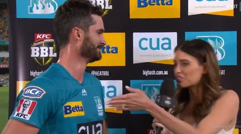 """""""Don't come home"""": Watch Ben Cutting's hilarious interaction with wife Erin Holland after leading Heat to win vs Hurricanes"""