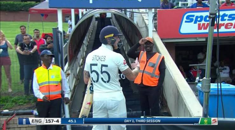 Ben Stokes apologises for foul mouthed response to an abusive spectator