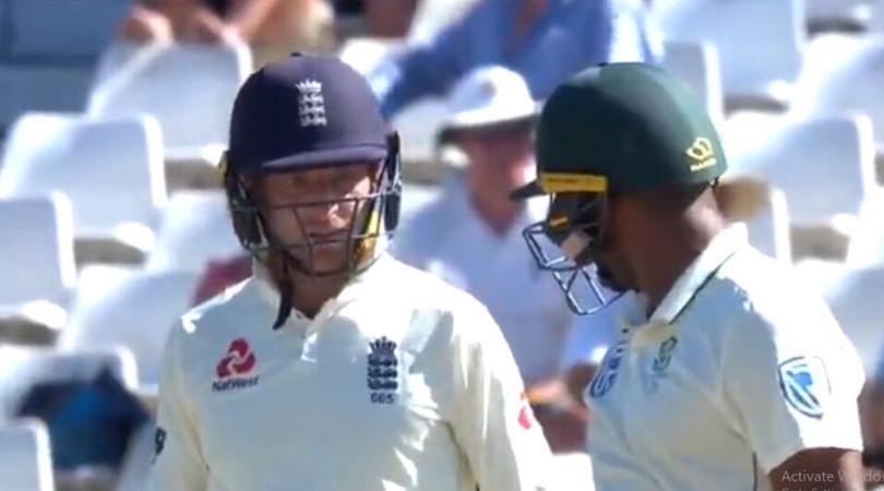 """""""Get out of the f**king way"""": Jos Buttler and Ben Stokes sledge Vernon Philander in Cape Town Test"""
