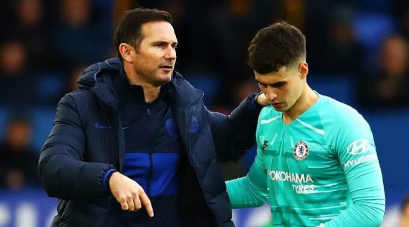 Chelsea News Frank Lampard makes Kepa admission after horrible showing vs Arsenal