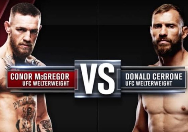 Conor McGregor vs Cowboy UFC 246 Card, Date, Time, Broadcast and Live streaming details
