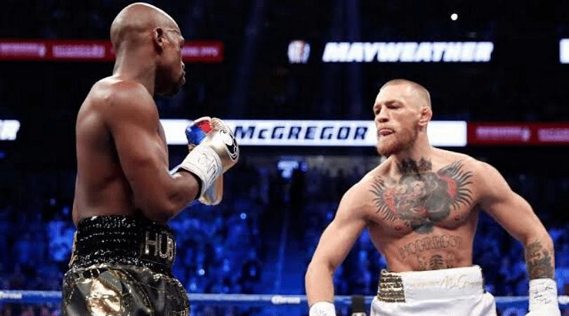 Conor McGregor vs Floyd Mayweather teased following UFC 246