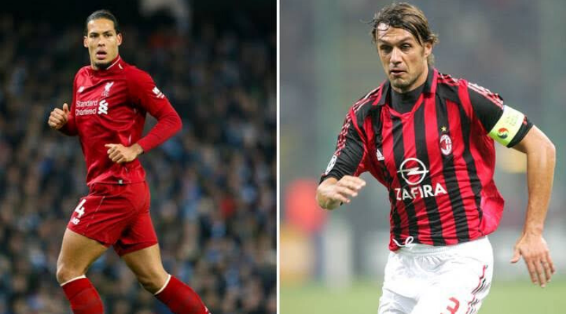 Controversial twitter thread claiming Paolo Maldini is not better than Virgil Van Dijk goes viral
