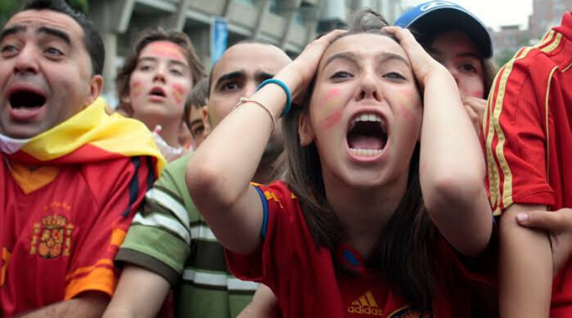 Devoted football fans are at a greater risk of heart attacks due to stress according to research