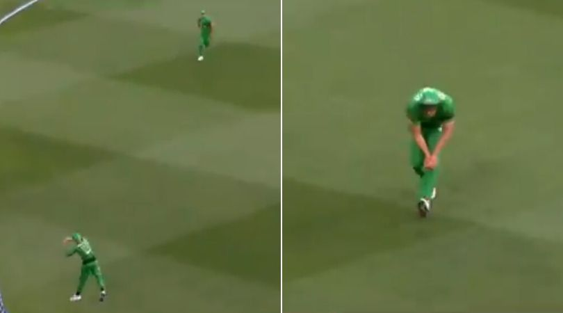 WATCH: Ben Dunk and Nathan Coulter-Nile join hands to grab exceptional catch to dismiss Shaun Marsh in BBL 2019