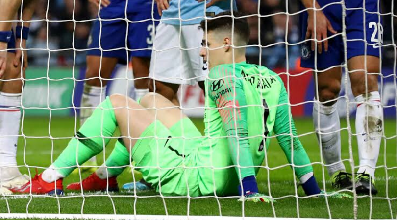 Kepa Arrizabalaga worst in Premier League, only better than 5 other keepers in Europe