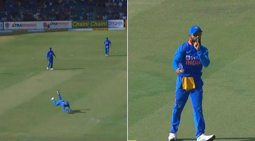 WATCH: Virat Kohli grabs first-rate catch to dismiss Marnus Labuschagne in Bengaluru ODI
