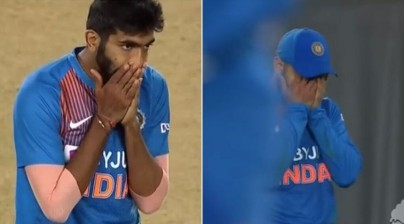 WATCH: Virat Kohli drops sitter to give reprieve to Ross Taylor; covers face in embarrassment
