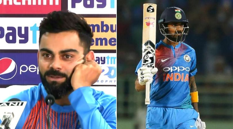 Virat Kohli confirms KL Rahul's role in New Zealand T20Is
