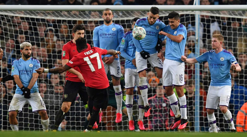 Ole Gunnar Solskjaer explains why Juan Mata did not take the free kick during Man City vs Man Utd