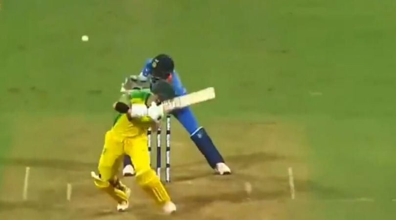 WATCH: Mumbai crowd chants 'Dhoni Dhoni' after KL Rahul fumbles behind the wickets vs Australia