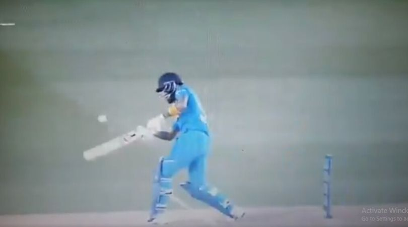 WATCH: KL Rahul whips Tim Southee for startling six in Auckland T20I