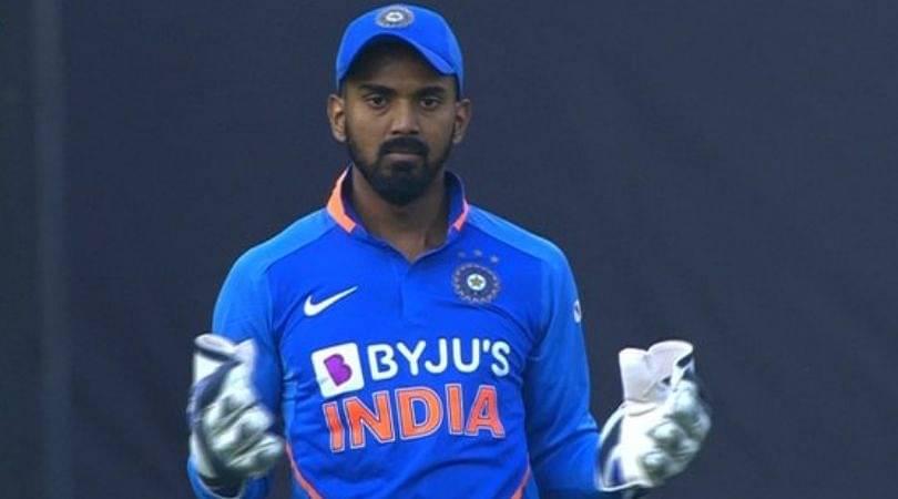 Why is KL Rahul keeping wickets instead of Rishabh Pant in India vs Australia Mumbai ODI?