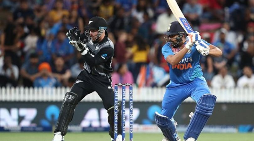 Why is Rohit Sharma not playing today's fourth T20I between New Zealand and India?