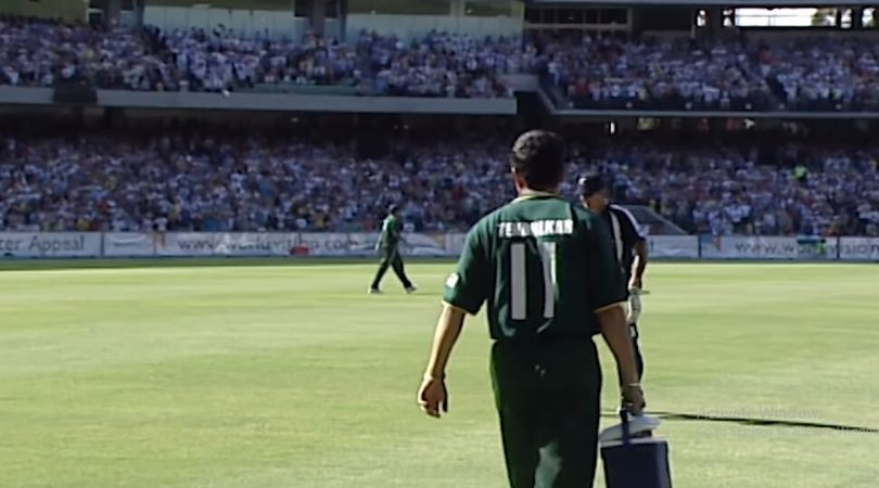 WATCH: Sachin Tendulkar carries drinks post Ricky Ponting's dismissal in ICC World XI vs Asia XI Tsunami relief match in 2005