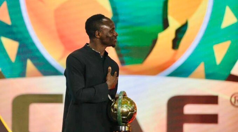 Sadio Mane gave a heartfelt and humble speech after bagging the African Player of the year award