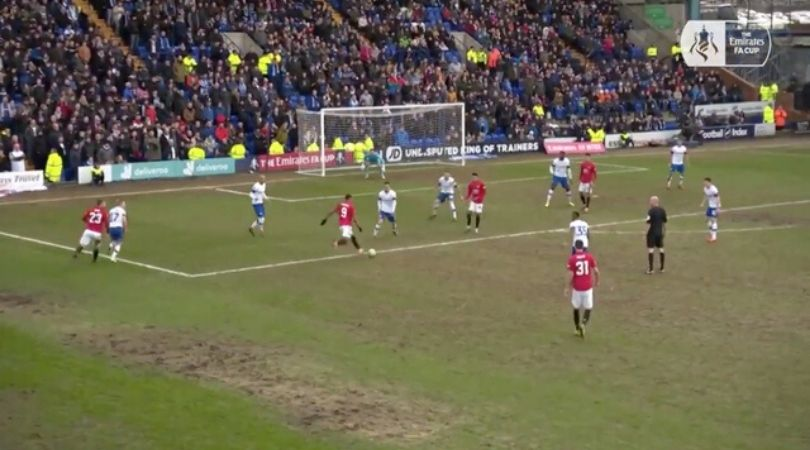 Anthony Martial goal Vs Tranmere Rovers: Manchester United striker scores curling goal in ruthless drubbing