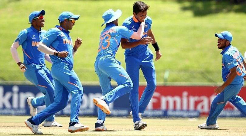 Watch: Kartik Tyagi dismisses Australian batsman after being sledged in U19 World Cup match