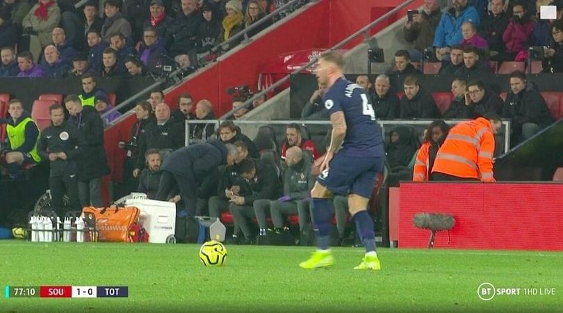 Jose Mourinho shown yellow card for peeking into Southampton coach's notes