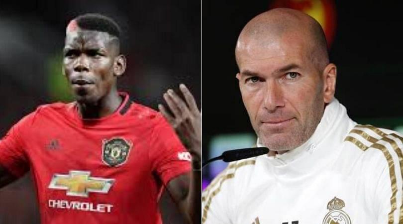 Paul Pogba Transfer News: Zinedine Zidane answers Pogba's transfer speculations