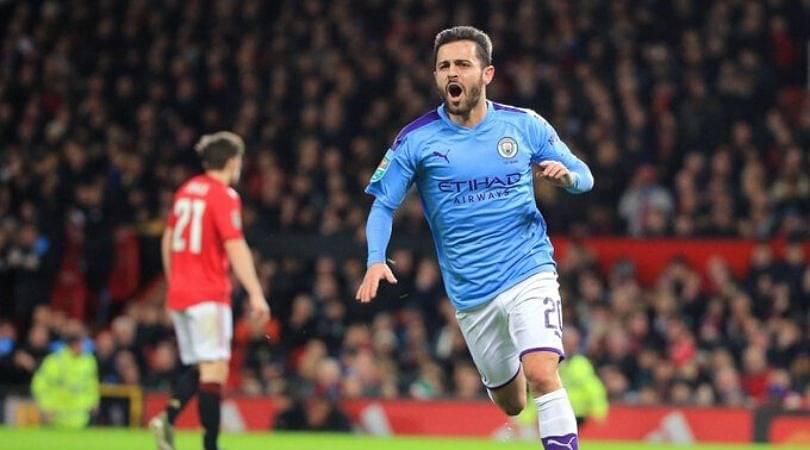 Bernardo Silva goal Vs Manchester United: Watch Manchester City star score sensational goal in EFL Cup semi-final
