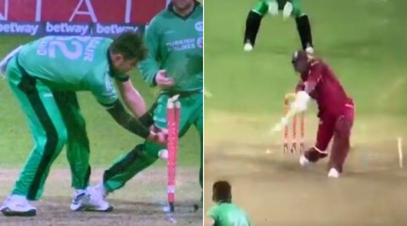 Watch: Ireland choke final stage of match, West Indies mark dramatic win