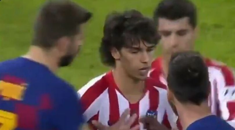 Barcelona players ganged up on Joao Felix after he confronts Lionel Messi