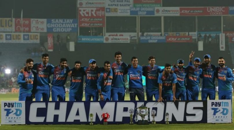 Here's the reason why Sanju Samson was missing from team India's celebration picture