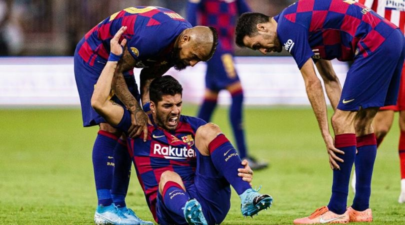 Luis Suarez Injury Update: Barcelona star ruled out for 4 months