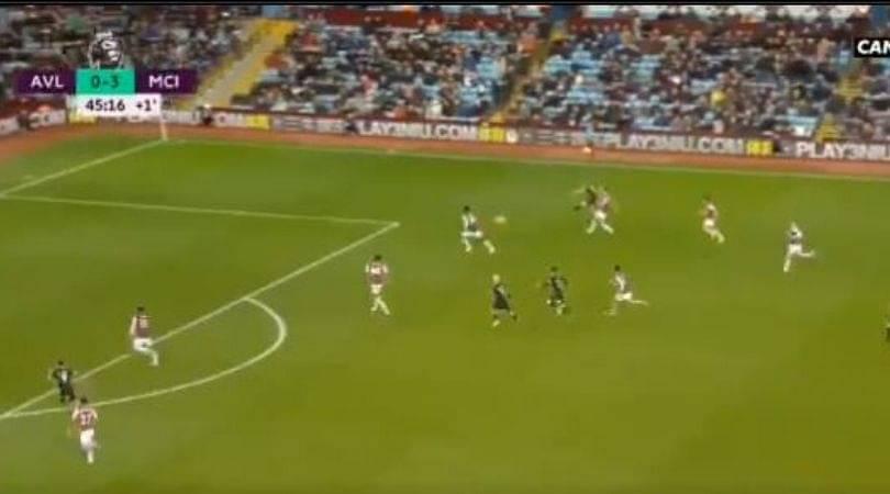 Kevin De Bruyne assist Vs Aston Villa: Manchester City star finds Gabriel Jesus with his wonderful assist