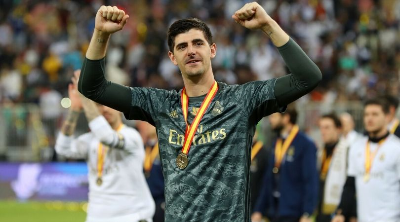 Thibaut Courtois' highlights show his pivotal role in Real Madrid's victory against Atletico Madrid