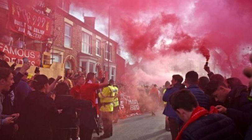 Liverpool fans set to give hostile welcome to arch rivals Manchester United ahead of Premier League game