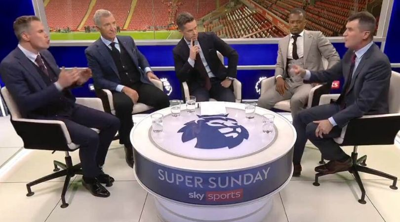 Roy Keane and Jamie Carragher involve themselves in heated argument over Ole Solskjaer