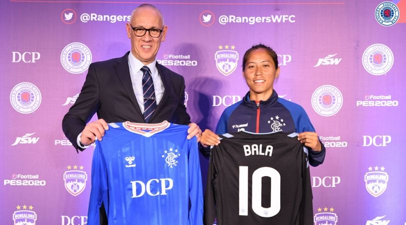 Rangers FC signs Indian woman footballer Bala Devi; first Asian footballer to join in history of club