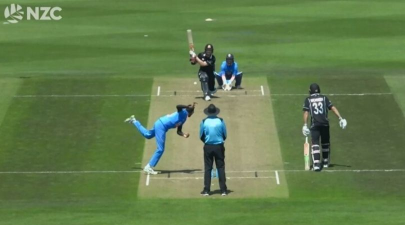 Watch: Jimmy Neesham got retire hurt after reverse sweep mishap in NewZealand A game
