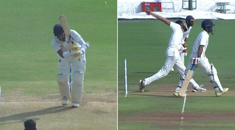 WATCH: Robin Uthappa gets major reprieve after getting bowled off Ravi Kiran's no-ball in Ranji Trophy