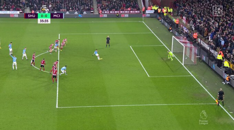 VAR strikes the Premier League again during Sheffield United vs Man City