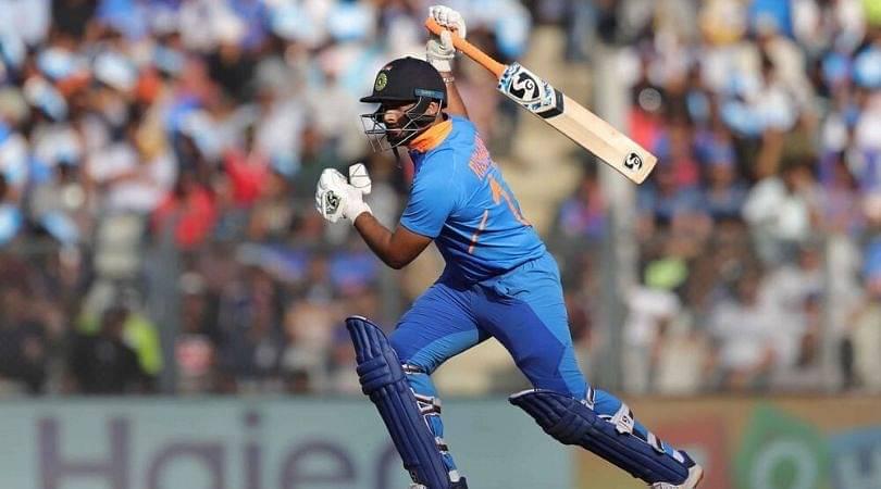 Who has replaced Rishabh Pant in Rajkot ODI vs Australia?