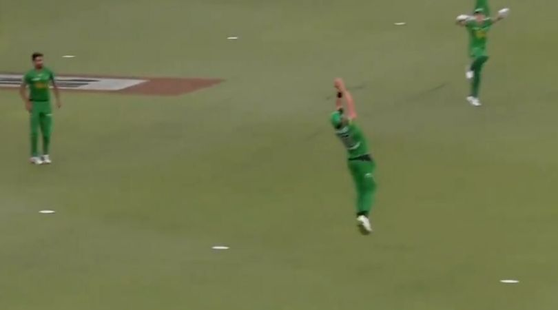 WATCH: Daniel Worrall grab spectacular catch to dismiss Mitchell Marsh in BBL 2019-20