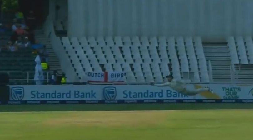 WATCH: Faf du Plessis grabs superlative diving catch to dismiss Joe Root in Johannesburg Test