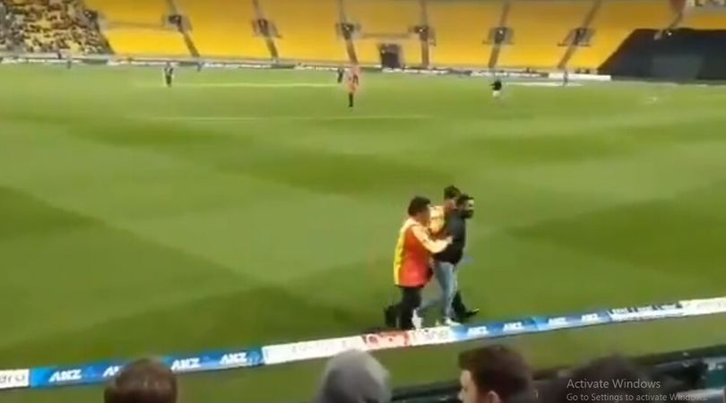 WATCH: Fans breach security to enter ground and meet Virat Kohli in Wellington T20I