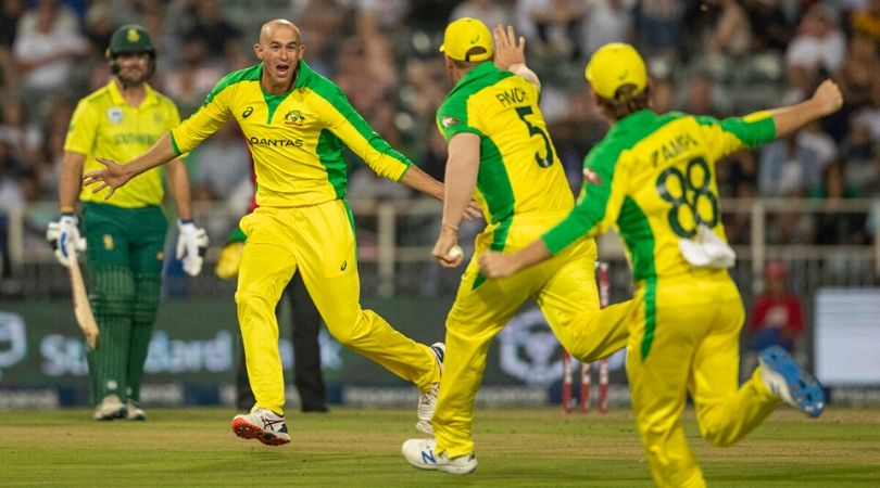 Ashton Agar hat-trick vs South Africa: Watch Agar becomes second Australian player to register T20I hat-trick