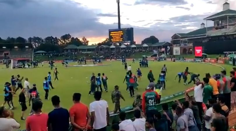 WATCH: Bangladeshi players remove trash from ground after winning U-19 Cricket World Cup