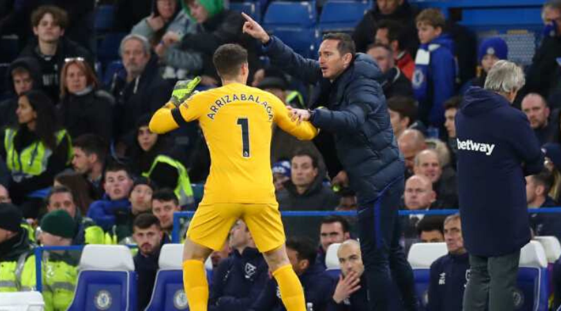 Chelsea News Frank Lampard at loggerheads with his board over the future of Kepa