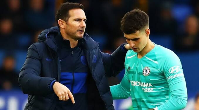 Frank Lampard explains why he dropped Kepa