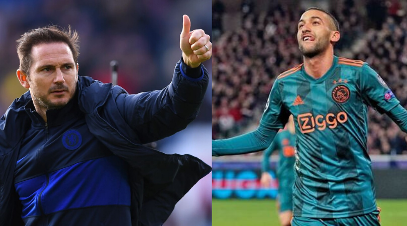 Frank Lampard reveals how he intends to use Hakim Ziyech at Chelsea